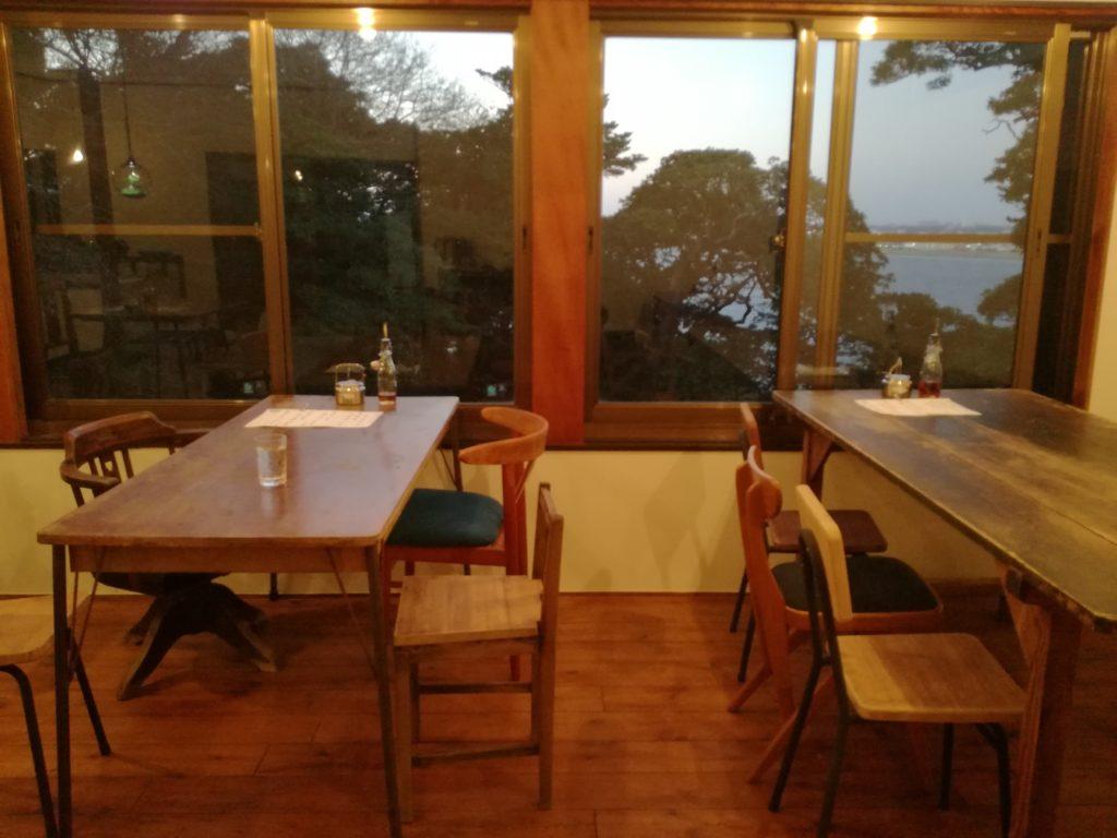 海が見える古民家カフェ