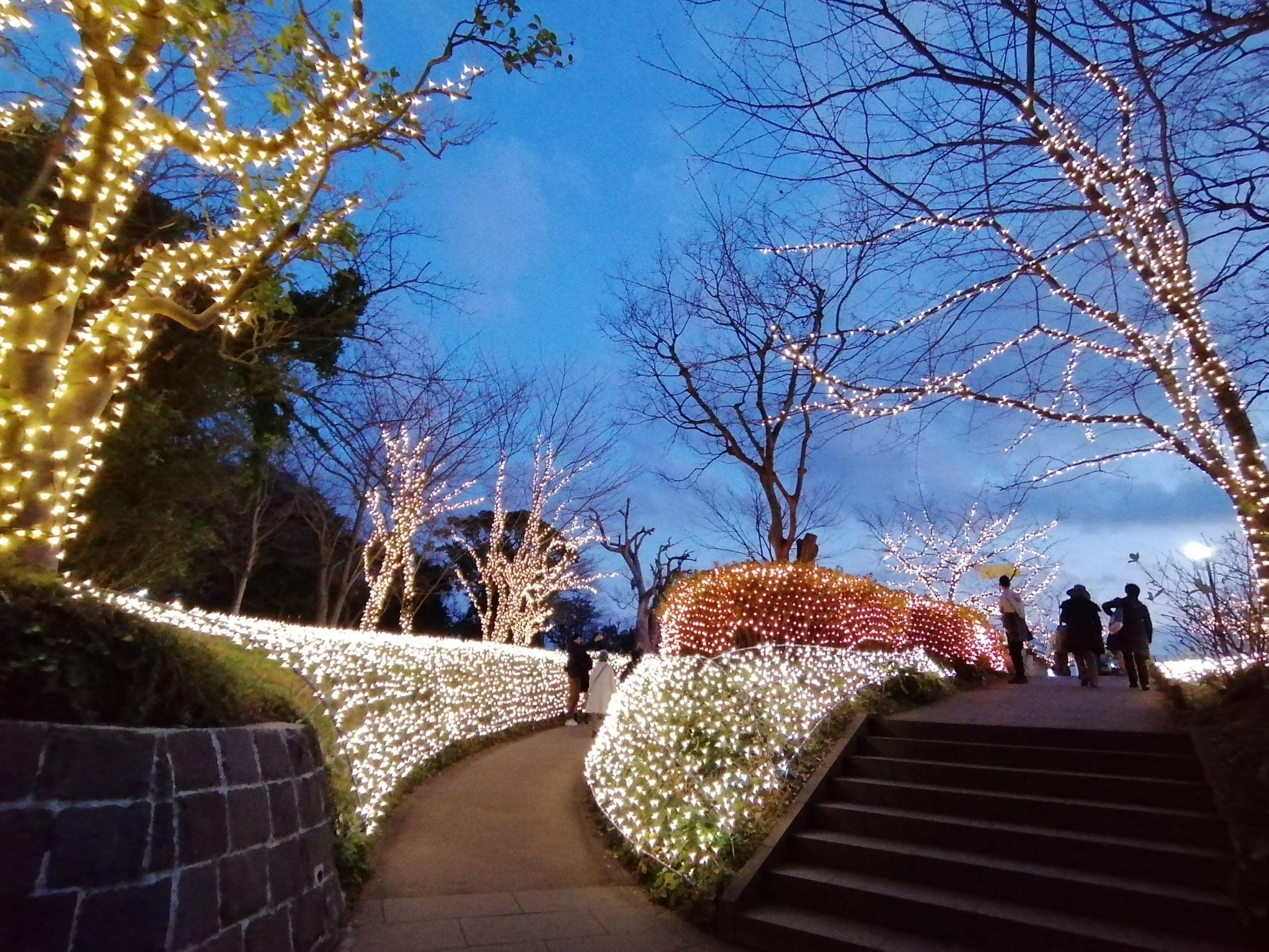 亀ヶ岡広場