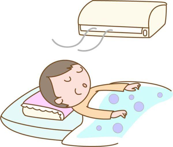 エアコン睡眠
