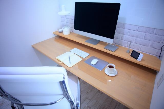 デッドスペースに書斎を作る