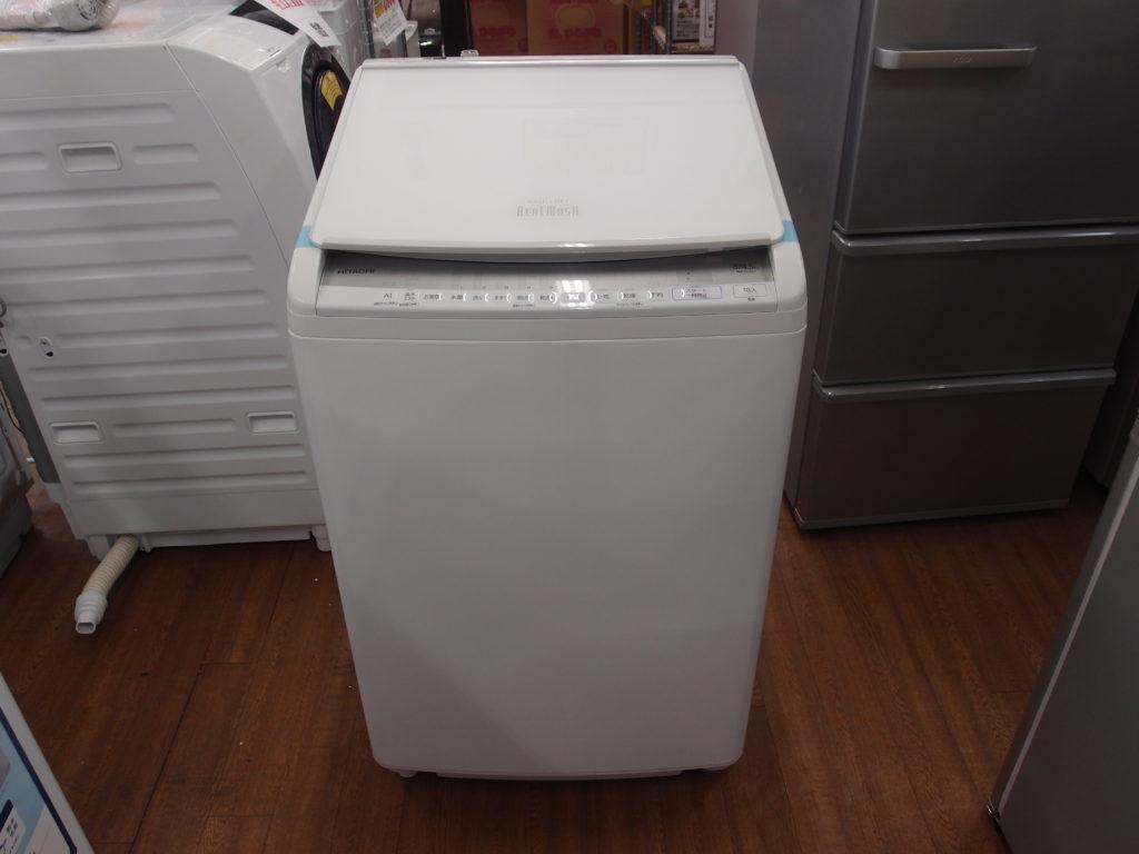 8.0㎏洗濯乾燥機 日立 BW-DV80F
