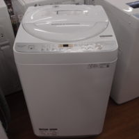 6.0kg洗濯機 SHARP ES-GE6C