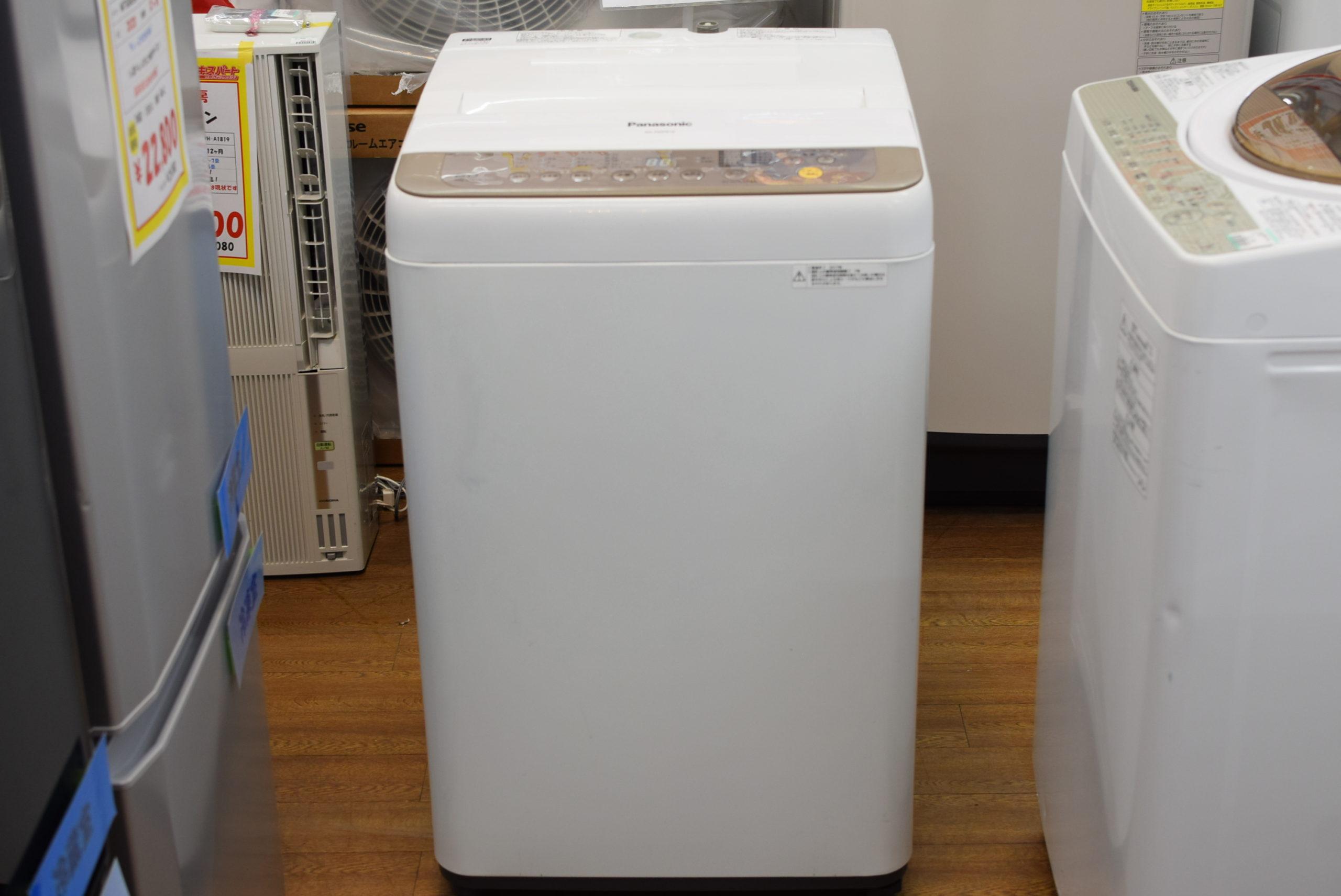 6.0㎏洗濯機 Panasonic NA-F60PB10