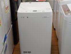 5.5㎏洗濯機 シャープ ES-GE5D 2020年製